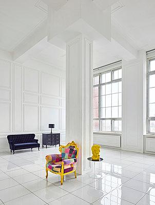 Designer Loft in Fabrikgebäude - p390m1477094 von Frank Herfort