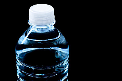 Bottled water - p4424693f by Design Pics