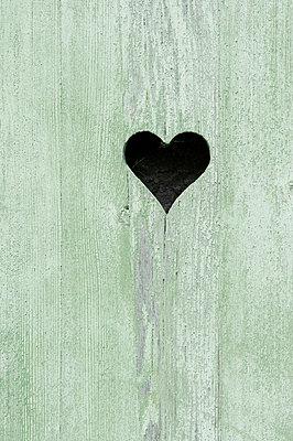 A heart in wood - p4510814 by Anja Weber-Decker