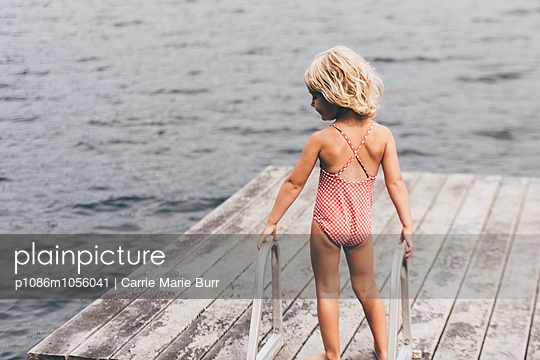 Summer on the Lake - p1086m1056041 by Carrie Marie Burr