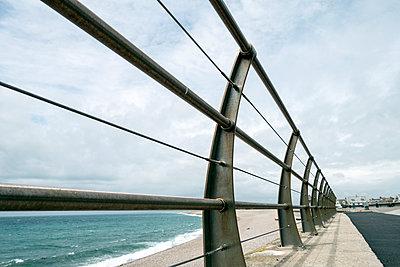 Beach Rail - p1309m1146256 by Robert Lambert
