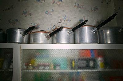 Kitchen utensils - p1057m817840 by Stephen Shepherd