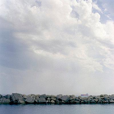Tanker in the horizon - p7780028 by Denis Dalmasso
