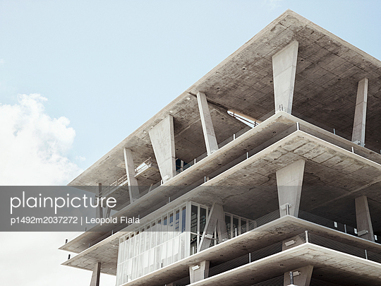 Parkhaus Betonkonstruktion - p1492m2037272 von Leopold Fiala
