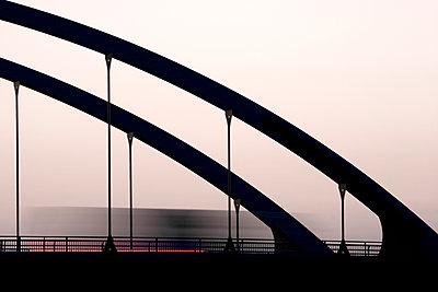 Kanalbrücke, Oder-Havel-Kanal - p089m933193 von Gerd Olma