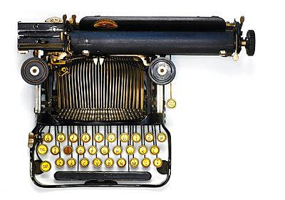 Reiseschreibmaschine - p509m925461 von Reiner Ohms