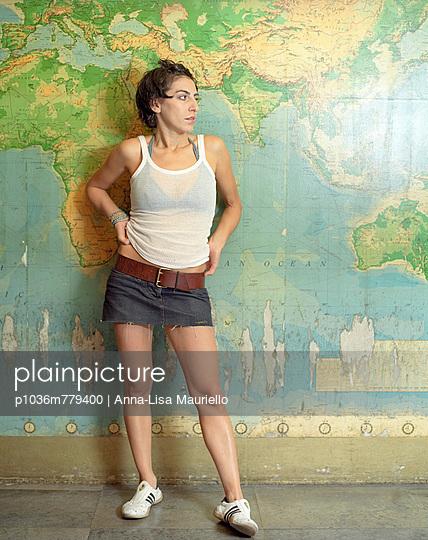 Portrait - p1036m779400 von Anna-Lisa Mauriello