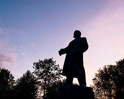 Lenins Silhouette - p1085m854312 von David Carreno Hansen