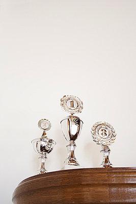 Pokale auf dem Schrank - p2141543 von hasengold