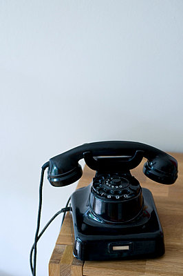 Old telephone - p310m731690 by Astrid Doerenbruch