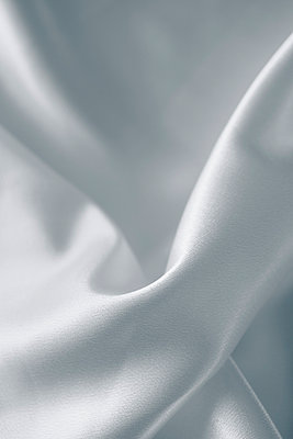White silk - p495m906993 by Jeanene Scott