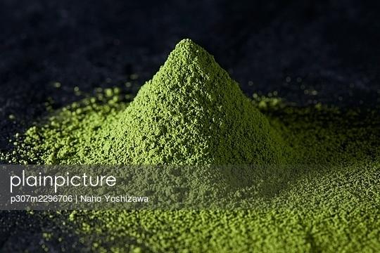 Matcha green tea - p307m2296706 by Naho Yoshizawa