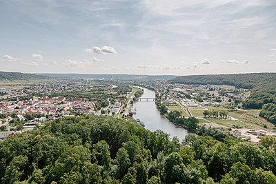 Kehlheim vom Michelsberg - p1085m987642 von David Carreno Hansen