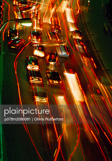 naples.night traffic - p378m2086081 by Olivia Rutherford