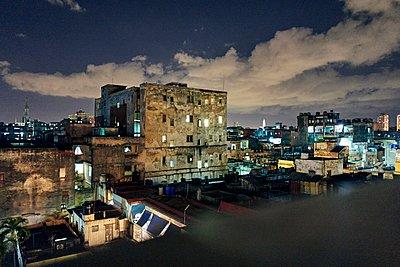 City of Havana at night - p1171m1461917 by SimonPuschmann