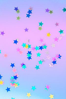 Confetti stars - p1149m2043381 by Yvonne Röder