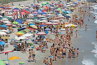 Strandleben in Italien - p1292m1474926 von Niels Schubert