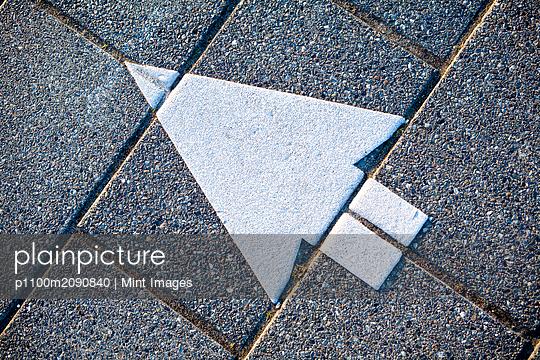 Directional Arrow - p1100m2090840 by Mint Images