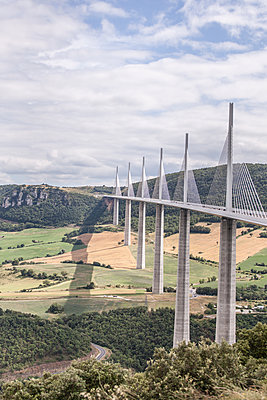 The Millau Viaduct - p1402m2005789 by Jerome Paressant