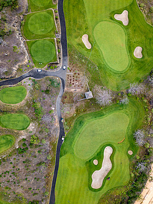 Indonesia, Bali, golf course at Payung beach - p300m2029976 by Konstantin Trubavin