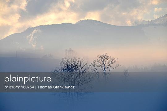 am Zahmen Kaiser, Kaiserwinkl, Winter in Tirol, Österreich - p1316m1160754 von Thomas Stankiewicz