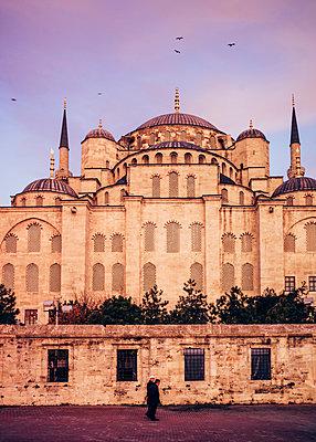 Türkei, Istanbul, Neue Moschee - p1085m2203572 von David Carreno Hansen