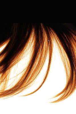 Flick of hair - p450m1058305 by Hanka Steidle