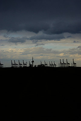 Harbour in Bremerhaven; Germany - p5390016 by ebba