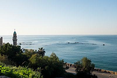 Blick aufs Meer in Tel Aviv - p1046m1138229 von Moritz Küstner