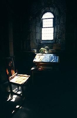 Church window - p6520761 by Mark Hannaford