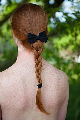Ein schöner Rücken kann entzücken - p045m2082422 von Jasmin Sander