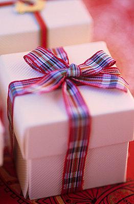 Gift box with ribbon - p3490557 by Jan Baldwin