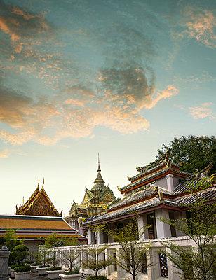 Großer Königspalast in Bangkok - p375m1021395 von whatapicture