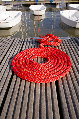 Red rope - p4640020 by Elektrons 08