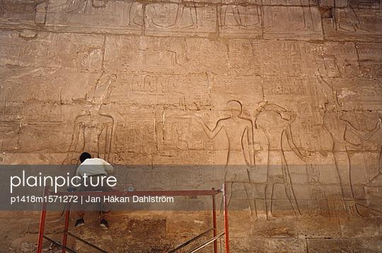 Luxor Tempel - p1418m1571272 von Jan Håkan Dahlström