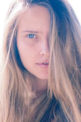 Woman Portrait - p6692471 by Ben Miller