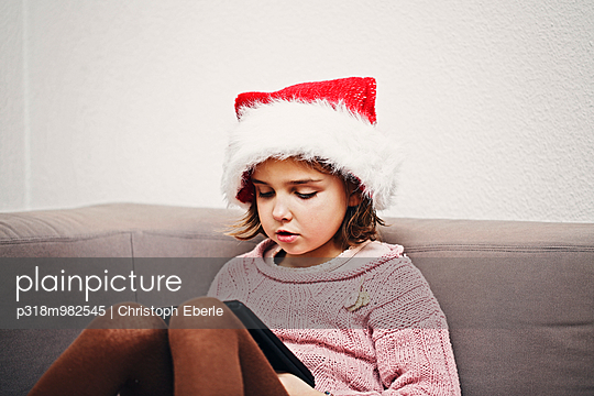 Warten auf den Nikolaus - p318m982545 von Christoph Eberle
