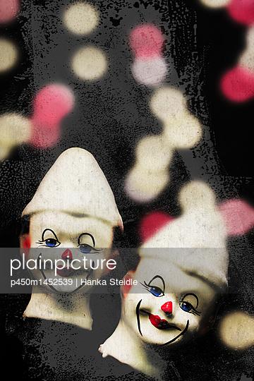 Puppenköpfe      - p450m1452539 von Hanka Steidle