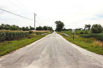 Endlose Landstraße - p1291m1465561 von Marcus Bastel