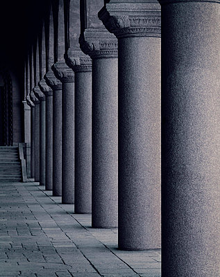 Row of columns - p312m764831 by Bruno Ehrs
