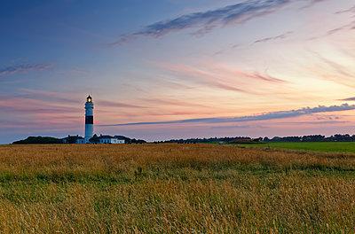 Germany, North Frisia, Sylt, Kampen lighthouse - p300m2012553 by Günter Flegar