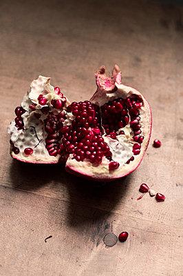 Halved Pomegranate - p947m2173938 by Cristopher Civitillo