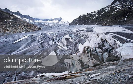 Rhonegletscher - p1053m881247 von Joern Rynio