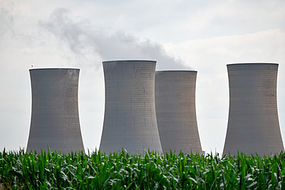 Kohlekraftwerk - p967m2045625 von Wessel Wessels
