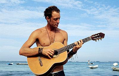 Strandmusiker - p0452129 von Jasmin Sander