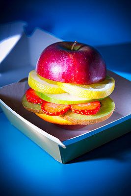 Obstburger - p1149m2089348 von Yvonne Röder