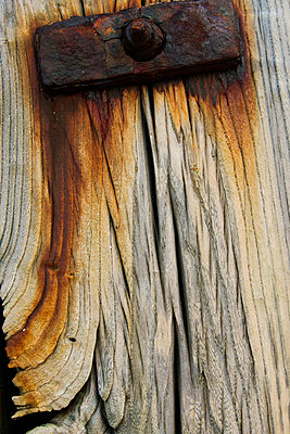 Corroded Wood - p6692500 by Peter Kelly