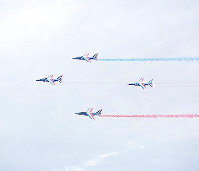 Flugshow, Armée de l'Air, Patrouille de France - p1113m959702 von Colas Declercq