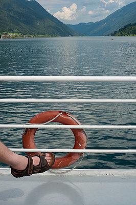 Bootsfahrt auf dem Weißensee - p1164m951934 von Uwe Schinkel