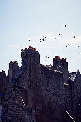 bretonische Altstadt - p464m1193614 von Elektrons 08
